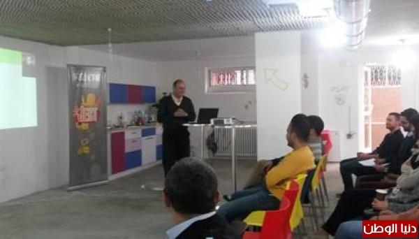 """مؤسسة الرياديين المقدسيين للتكنولوجيا والخدمات المجتمعية تنظم ندوة بعنوان """"  نحو مشاريع تخرج ابتكارية"""""""