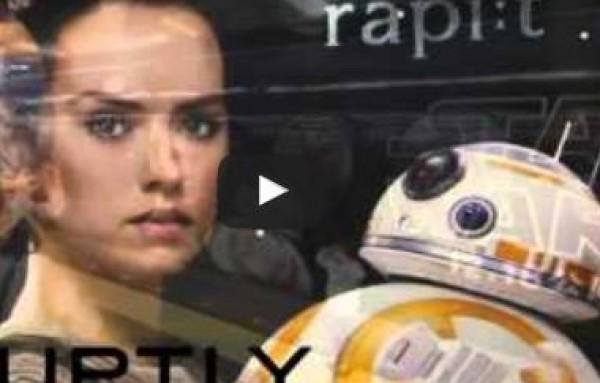 قطار سريع يشبه مراكب خيالية من حرب النجوم (فيديو)