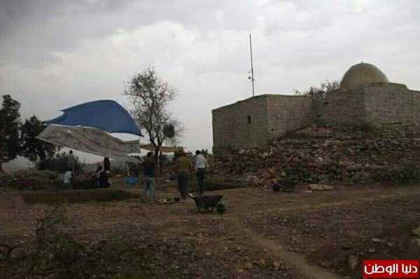 وزارة الساحة والاثار تنهي المرحلة الاولى من تأهيل موقع تل ابو زرد الاثري