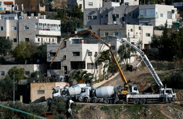 Israel Fills Homes of Two Palestinians in Jerusalem with Cement