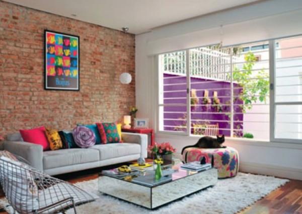 بالصور ... ديكور منزل برازيلي بمزيج متنوع من الالوان والاساليب