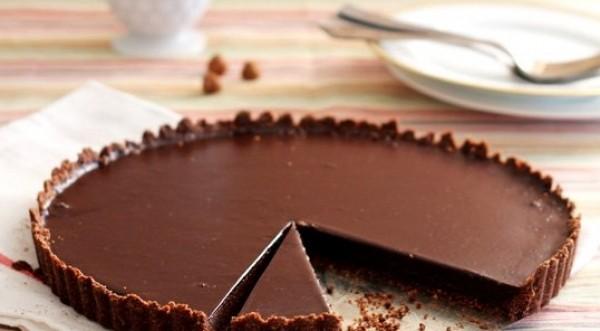 الحلويات تارت شوكولاتة