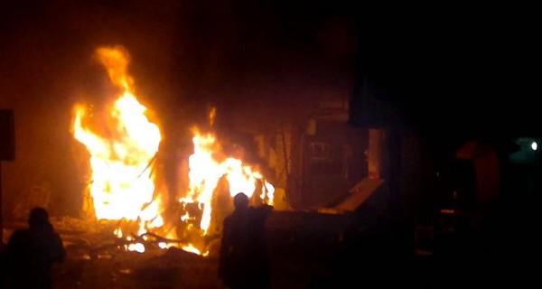"""انفجار عبوة ناسفة وضعت أمام محل للألعاب """"بلياردو"""" بشارع النديم بحي الزيتون دون إصابات"""