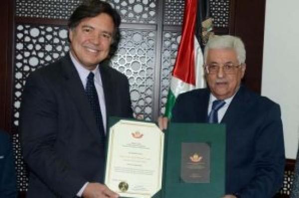 سفير البرازيل في فلسطين يُغني لـ