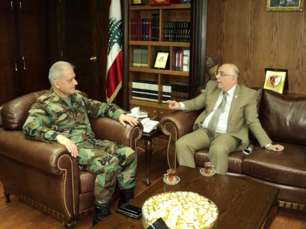 امين عام المنظمة الأوروبية للامن والمعلومات يبحث ورئيس الاركان الجيش اللبناني في قضايا ذات صلة