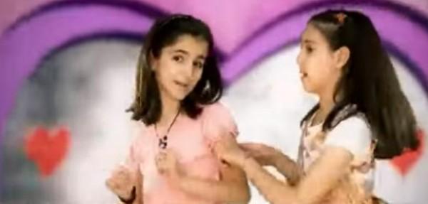 """بالفيديو ...انشودة اطفال  """" احنا بنات مربيات لفتيات رغودة و ديمة"""