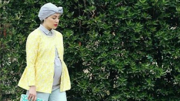 b480d60a9f2a2 بالصور ... أفكار ملابس حمل للمرأة المحجبة
