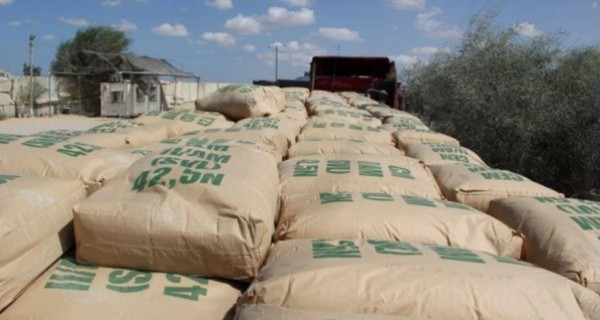 Israel officially bans cement entry to Gaza