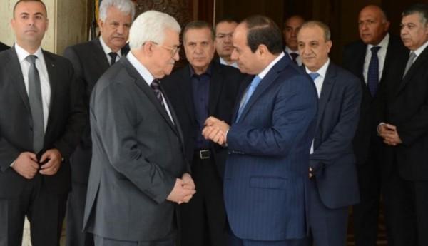ماذا تناول لقاء الرئيس عباس ونظيره السيسي