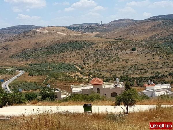 """طولكرم: مستوطنة عناب.. توسعة لا تعرف غاياتها وأراضي مواطنين على """"كف عفريت"""""""