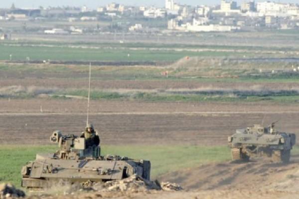 توغل محدود لآليات الاحتلال الإسرائيلي 9998734190.jpg