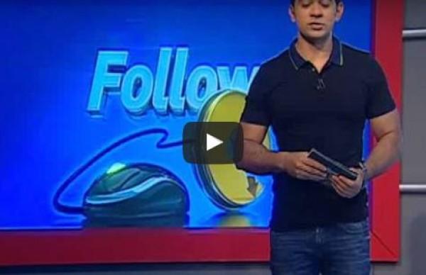 بالفيديو تامر حسني مع شبيهه نسخة طبق الأصل