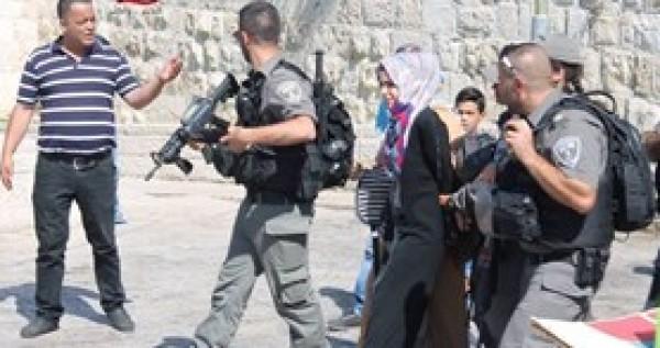Israeli Soldiers Palestinian Girl