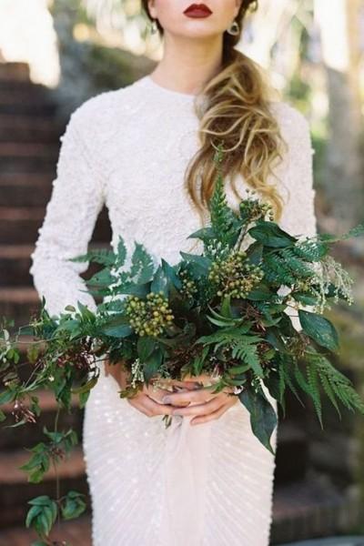 db24f32b6 أشكال فساتين زفاف بأكمام طويلة لإطلالة راقية ومحتشمة للعروس | دنيا الوطن