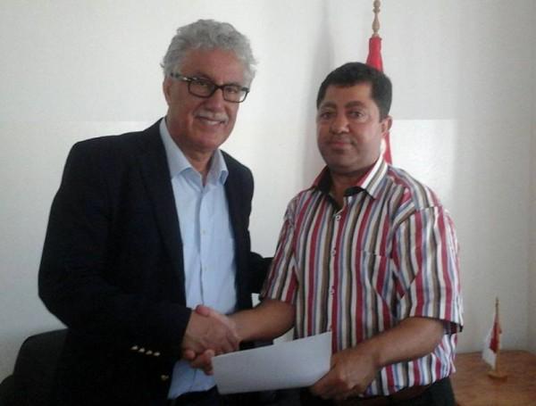 """فروانة يسلم الجبهة الشعبية التونسية رسالة يدعوها فيها الى التحرك لإنقاذ """"بلال"""""""