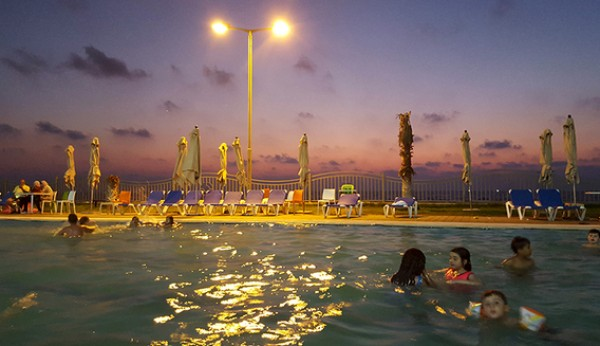 Forget the Riviera: Women find summer fun at Gaza beach homes