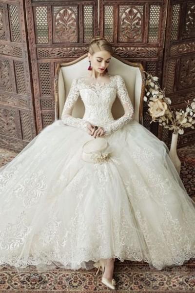 بالصور .. ٢٨ فستان زفاف منفوش ستقع كل عروس في حبه
