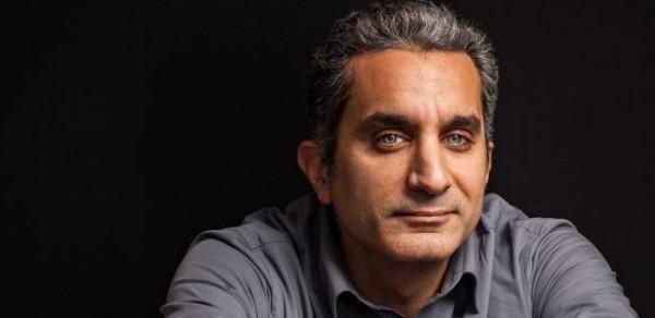 صورة باسم يوسف وهند صبري تثير ضجة على فيس بوك