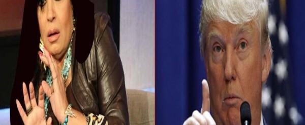 بالصور ترامب يتوعد فيفي عبده بعد تعليقها على فوزه بالإنتخابات الأمريكية