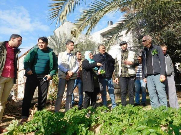 غزة: وفد لجنة المونونايت المركزية يتفقد المناطق المهمشة ويعد بتقديم الدعم وتنفيذ المشاريع