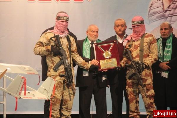 بالفيديو والصور..حركة حماس تنظم حفل تأبين للشهيد محمد الزواري