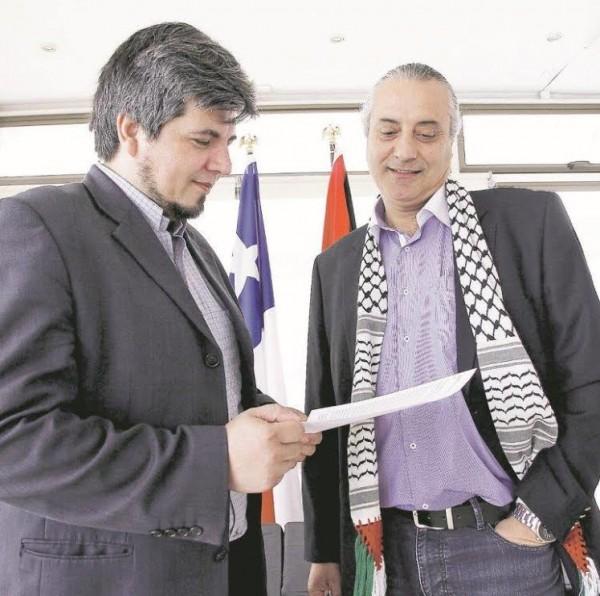 المركز العربي: باحث وسياسي تشيلي عمل على الترويج لمشروع ادانة الاستيطان
