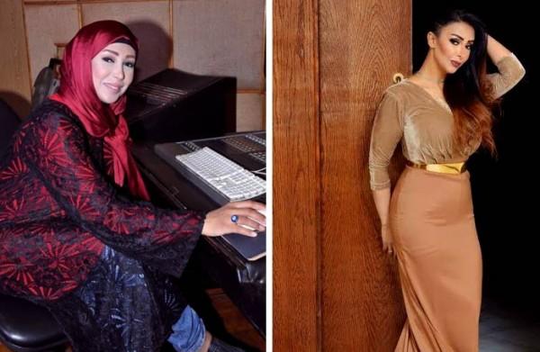 فنانات خلعن الحجاب من أجل الفن