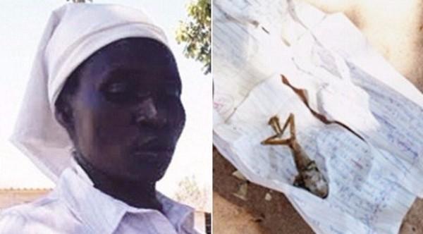 امرأة من زيمبابوي تنجب مخلوقاً عجيباً وتُجبر على حرقه