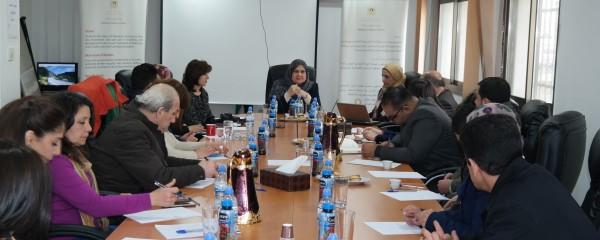 عقد الاجتماع الأول لأعضاء الشبكة الإعلامية في وزارة شؤون المرأة