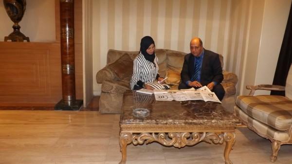 """""""المرأة العربية"""" تتضامن مع رئيسة منتدى تمكين المرأه والشباب"""