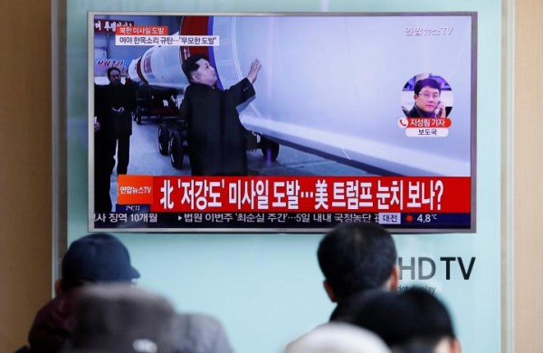 North Korea tests ballistic missile; U.S. to avoid escalation