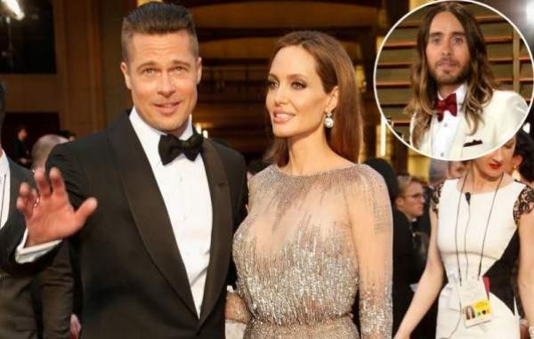 براد بيت يؤكد الشائعات:أعلم أن أنجلينا معجبة بـ جاريد ليتو