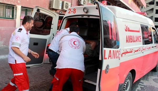 إصابة مواطنين بعد انقلاب مركبتهما غربي مدينة غزة