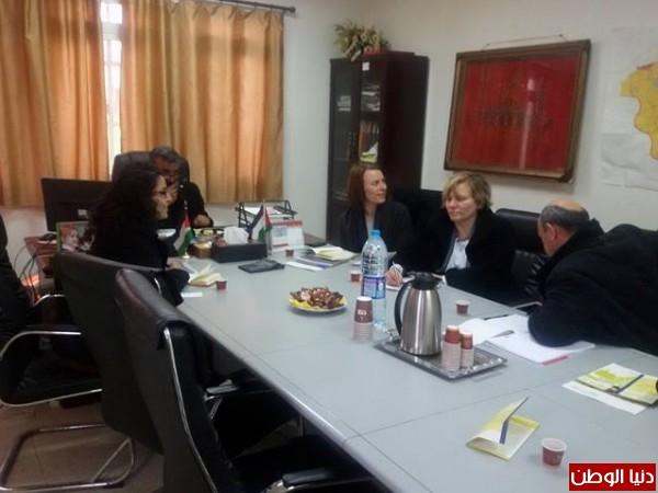 بلدية الزبابدة تناقش مع وفد شراكة البلديات الألماني تطوير علاقات توأمة