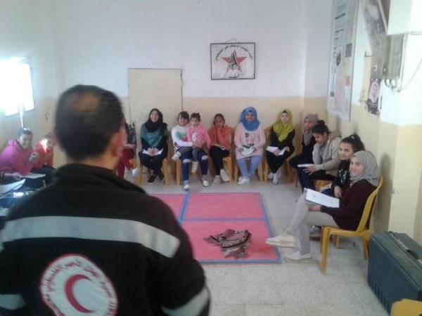 اتحاد الشباب الديموقراطي يعلن استمرار دورة الإسعاف الأولي للفتيات