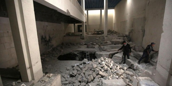 Before its destruction, most of Mosul Museum's artifacts were saved and replaced with fakes
