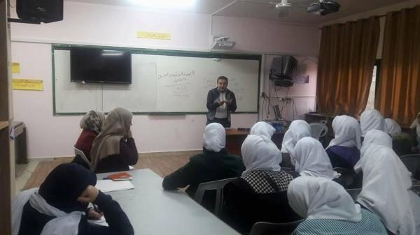 الشبيبة الطلابية تنظم محاضرة حول القضية الفلسطينية