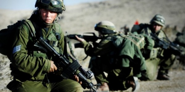 Israeli army carries out military drills in the Negev