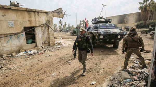 Iraqi forces retake two key areas in west Mosul