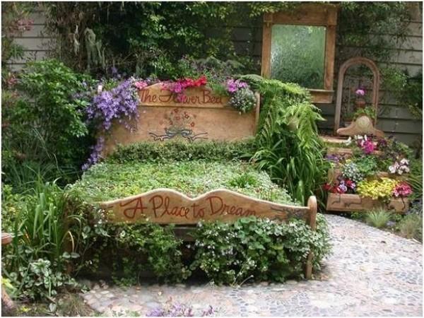 ديكورات رائعة لحديقة المنزل