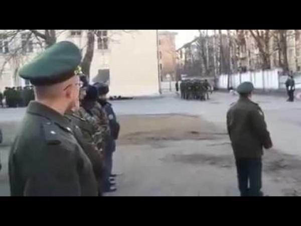 طلاب الجالية الفلسطينية في الكلية العسكرية بروسيا