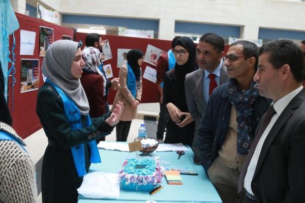 """جامعة النجاح تنظم معرض افتتاح مبادرة """"حياة لنشر الوعي الطبي"""""""