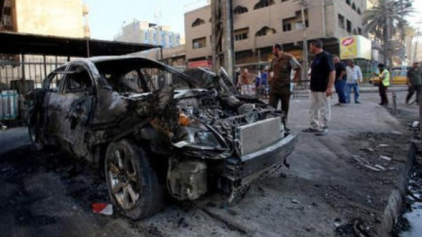 مقتل 23 شخصاً في انفجار سيارة مفخخة في بغداد