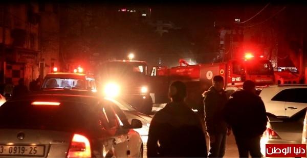اندلاع حريق بمول الأندلسية بمدينة غزة والدفاع المدني يسيطر عليه