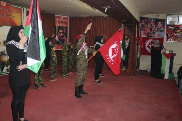 الجبهة الشعبية تنظم مهرجان شعبي في مخيم برج البراجنة