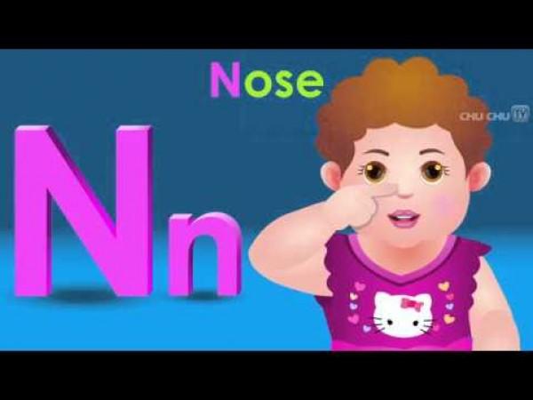 أغنية لتعليم حروف الانجليزية للأطفال