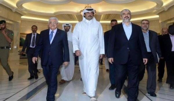 صحيفة لبنانية تكشف بنود المبادرة القطرية للمصالحة الفلسطينية