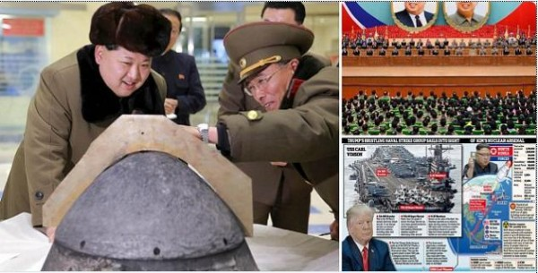 North Korea is preparing to detonate a new nuclear bomb to mark 'Day of the Sun'