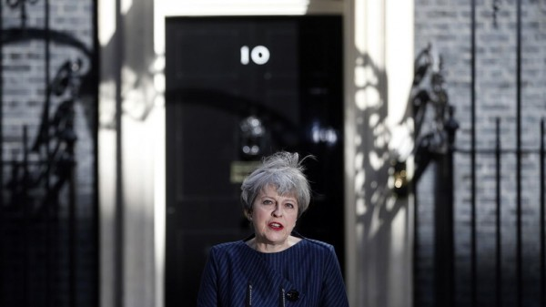 British PM Theresa May announces snap general election