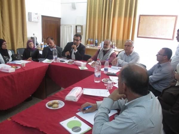 مجموعة التخطيط بمجلس قروي العقبة تعقد اجتماعها الدوري